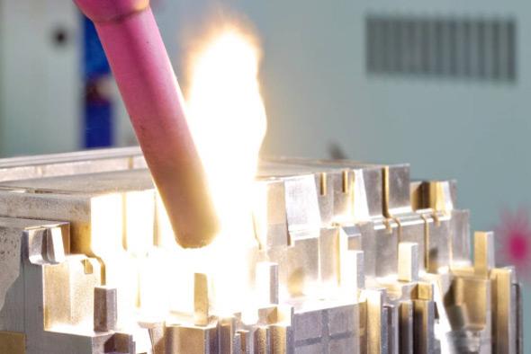 MHF Fertigungsverfahren Laserschweißen, kleinste Teile ohne sichtbare Schweißnaht
